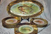 Antique porcelain Старинный фарфор