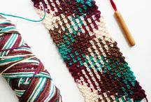 colour pooling virkkaus