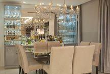 Sala jantar / Cristaleira