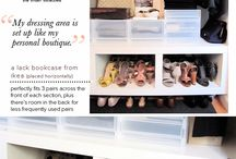 organize the space