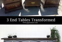 Opp-pussing av gamle møbler