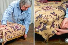 Upholstery TIps / Here you can find very important tips on upholstery, furniture Repair and about upholstery fabrics.