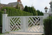 Swing Gates / Examples of different styles of swing gates from us and others - Like One? - Ask if we are able to make it for you.