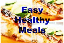 EASY HEALTHY MEALS / EASY HEALTHY MEALS is a GROUP BOARD offering easy healthy recipes for breakfast, lunch, dinner, dessert and snacks. Post all easy and healthy meal ideas, and please invite others! / by Clean Eating Recipes
