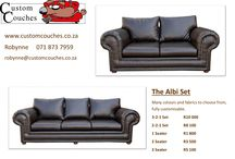 Our Custom Made Couches / Our couches we have custom manufactured for our clients.