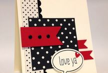Just Sayin' and Word Bubble Framelits - Stampin' Up (retired) / by Diana Crawford