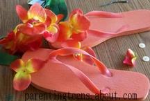 DIY Decorated Flip Flops / by Patty Hanson