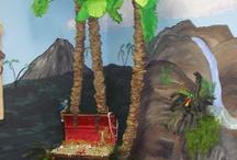 jungle - dinosaurs