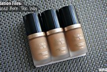 Foundation Files - reviews and swatches