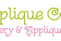appliques and ITH / machine embroidery designs  -- applique and in the hoop / by Diane Williams