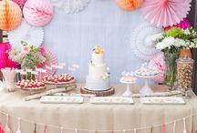 Candy Bar & Sweet Tables