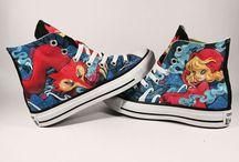 Custom Shoes on Etsy