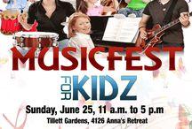 MusicFest for KidZ 6-25-17 EVENT