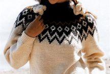 Зима свитерок