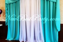 Back drops / Back drops for any type of Event, either Wedding, Birthday, XV añeras, Baptism, Baby shower, 1st Communion.