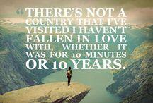 Travel Quotes I Like