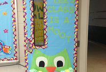 Pre k classroom door / Classroom Christmas decorations / by Ava Arnold