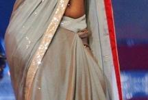 side saree navel