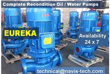 Sea Water Pump/Fresh Water Pump/Oil Pump/Ballast Pump/Fire Pump/Cargo Pump/Boiler Feed Pump / Water pump/Oil Pump SHINKO/NANIWA/TEIKOKU/EUREKA/HAMWORTHY/ALLWEILERS/JMW/IMO/GARBARINO/IRON/GRUNDFOS/HEISHIN/ISHI/MERSER/THUNE EUREKA