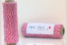 """Baker´s Twine / Proyectos con la cinta estrella de los productos """"handmade""""."""