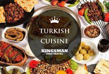 12 Foods You Must Try in Turkey / Good food is one of the important reason for travelers. As food travelling has became big market recent years.  A high percentage of travellers, consider dining and food as relevant activities during their travels. Turkish cuisine varies across the country. But we chose for you which you can find easily anywhere in Turkey.http://allinclusivegolfinturkey.com/blog/12-foods-must-try-turkey-kingsman-golf/