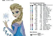 pixel deken of borduren