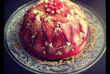 Le monde de la fraise/ strawbery Cakes