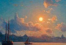 Morze malarstwo