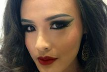 Miss earth indonesia 2013 / Make-Up