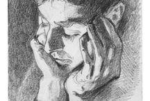 Disegno & Disegni / Imparare a disegnare seguendo le orme dei Maestri. Disegni a carboncino, a matita, china, pastelli...