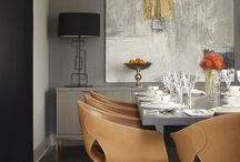 Interior Design: Dining / Contemporary & modern dining rooms. / by Iliana Sava