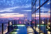 Rooftop Gardens and pools / Relax with a view...