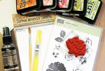 distress inks all things