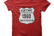 Born in the 60s T-Shirts / Were you born in the 1960s? Then we have the perfect tees for you. Custom and one-off tee designs quickly printed - info@theteemerchant.com