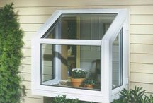 Garden Window - Radiance 1200 Series / Bring the outdoors into your home with our premium Radiance 1200 Series Garden Window! This mini greenhouse with side operating casements is an ideal way to let natural light into your house. Opt for a glass shelf to display your plants, or an energy efficient insulated bottom shelf.