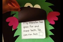 Monster Theme crafts