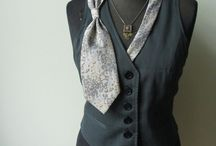 Repurposed clothing / Recycling and repurposing of old clothes
