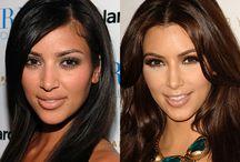 Kim before