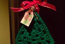 karácsonyi díszek horgolása