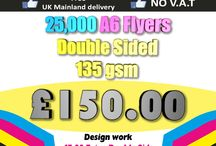 Trade Price Printing / Trade Printing Prices from Morecambe Flyers