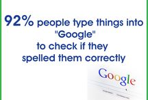 "Amazing Facts!!! / 92% people type things into ""Google"" to check if they spelled them correctly"