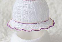 вязание - шапочки, панамы