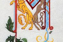 Illuminated manuscripts / by Melissa Thomas