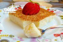 Sütlü Tatlılar / Tamamı denenmiş ve fotoğraflanmış olan ekonomik, pratik ve evde kolayca hazırlayabileceğiniz en lezzetli sütlü tatlı tarifleri burada!  Kadayıfılı Muhallebi, Sütlaç, Trileçe Tarifi ,Magnolia tarifleri ve daha fazlası Nefis Yemek Tarifleri'nde.