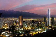 Santiago City & Chile.