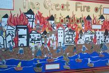 Great fire of London...
