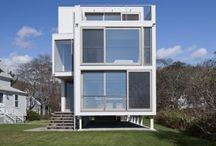 Casa com 2 pavimentos / Two story home / by Milrem Eltz