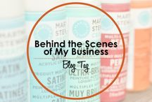 Blog Tag Posts / Blog posts from the Blacksburg Belle blog tags: 20 Things You Don't Know About Me and Behind the Scenes of My Business