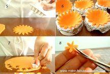 postupy dortove figurky a kytky