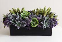 umělé květiny - dekorace
